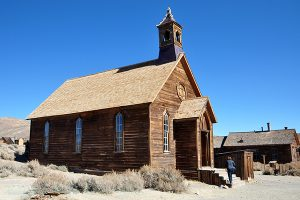 Methodist Church on Green Street, Bodie SHP