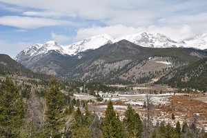 West Horseshoe Park View, Rocky Mountain National Park
