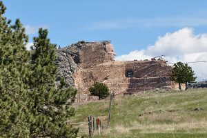 Crazy Horse Memorial still in progress in 2016.